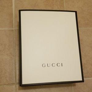 Gucci empty box